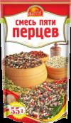 """Приправа """"Смесь пяти перцев"""" Витэкс 55г/30"""